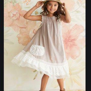 16 Girl's Willow Prairie Dress Cotton